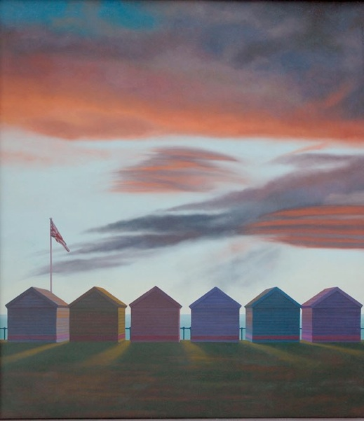 Beach Huts by Stephen Jacobson